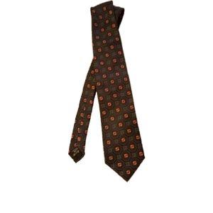Ermenegildo Zegna 100% Italian Silk Tie